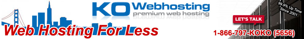 Business web hosting Bay Area local
